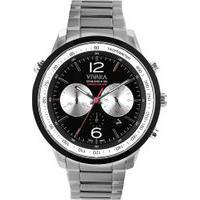 Relógio Vivara Masculino Aço - Ds13974R0A-1