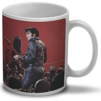Caneca Bandup - Bandas Elvis Presley 68 Comeback Red