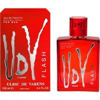 Perfume Udv Flash Masculino Ulric De Varens Edt 100Ml - Masculino