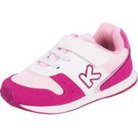 49b60b214 ... Tênis Bebê Klin Mini Walk Feminino - Feminino-Pink