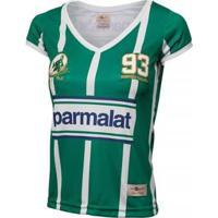 Camisa Palmeiras Retrô Gol Zinho Feminina - Feminino