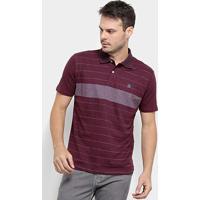 Camisa Polo Hd Trinity Masculina - Masculino-Vinho