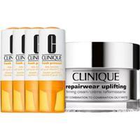 Kit Facial Clinique Fresh Pressed Vitamina C + Hidratante Repairwear Uplifting Firming