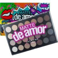Paleta De Sombras Matte De Amor 28 Cores Jasmyne 1 Kit
