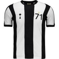 Camisa Retrômania Alvinegro Mg 1971 Masculina - Masculino