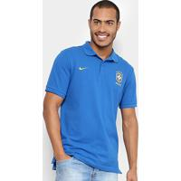 b6f11e8085317 Lojas Pompéia  Camisa Polo Seleção Brasil 2018 Nike Masculina - Masculino