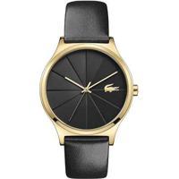 Relógio Lacoste Feminino Couro Preto - 2001041