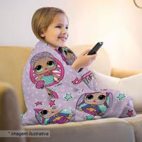 Manta Fleece Lol®- Lilás & Pink- 125X150Cm- Lepplepper