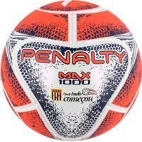 Bola De Futsal Penalty Max 1000 Fpfs Viii - Coral Branco 2e12c59e489cf