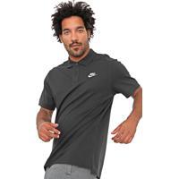 Camisa Polo Nike Sportswear Reta M Nsw Matchup Preta