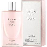 Leite Corporal Hidratante Lancôme La Vie Est Belle Lait Corps De Parfum 200Ml - Feminino-Incolor