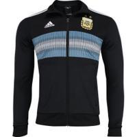 Jaqueta Argentina 3S 2018 Adidas - Masculina - Preto