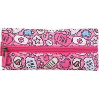 Estojo Escolar Xeryus Flat Teen - Feminino-Pink