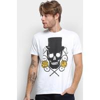 Camiseta Ellus Freaks & Wonders Masculina - Masculino-Branco