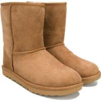 Ugg Kids Teen Classic Shearling Boots - Marrom
