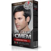 Tintura Biocolor Homem Coloração Castanho Escuro