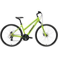 Bicicleta Merida Crossway 15 Md - Aro 700 - Freio A Disco Mecânico - Quadro 50Cm - 24 Marchas - Verde Cla/Cinza Cla