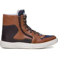 Tênis Sneaker Rock Fit Rush Camel