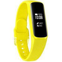 Smartband Samsung Galaxy Fit E Amarelo Pulseira De Silicone Monitor Cardíaco