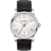 Relógio Montblanc Masculino Couro Preto - 114841