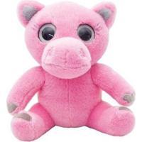 Pelúcia 15 Cm - Urso Rosa - Wild Planet