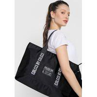 Bolsa Colcci Fitness Shopping Bag Preta