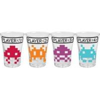 Conjunto De Copos De Shot Space Invaders