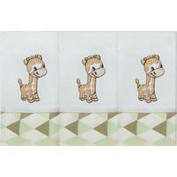 Fralda De Boca Laura Baby Floresta Girafa