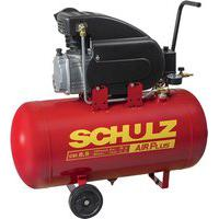 Compressor De Ar Schulz 915.0405-0 Csi 8.5/50 2Cv Preto/Vermelho 127V
