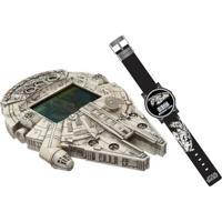 Mini Game - Star Wars - Millenium Falcon E Relógio - Candide