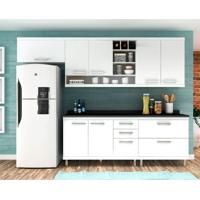 Cozinha Compacta New Vitoria 7 Pt 5 Gv Branco