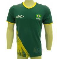 Camisa Olympikus Cbv Masculina Jogo Sn 16/17 Vrd - Olympikus