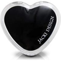 Espelho De Bolsa Coração Jacki Design Espelhos Preto