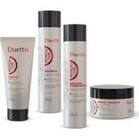 Kit Proteção Da Cor 1 Shampoo 300Ml + 1 Cond 300Ml + 1 Máscara 200Ml + 1 Leave-In 280G - Unissex-Incolor