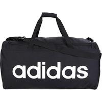 Mala Adidas Lin Core Duf L - Unissex-Preto+Branco