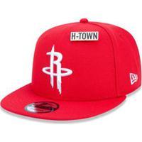 ... Boné 950 Houston Rockets Nba Aba Reta New Era - Masculino-Vermelho 583a27d6960