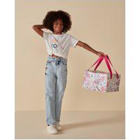 Amaro Feminino Camiseta Infantil Basica Be Bold, Off-White