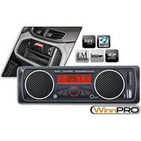 Rádio Mp3 Player Automotivo Com Alto-Falantes Integrados Usb E Sd