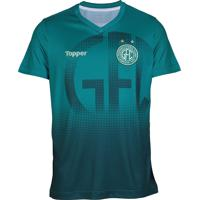 Camisa Clube Topper Aquecimento Guarani 2018 873184517f4ee