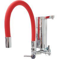 Torneira Para Cozinha Gourmet Com Filtro Parede Vermelha 2161 C80 - Mundi - Mundi
