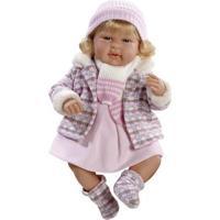 Boneca Bebê - 40 Cm - Elegance - Baby July - Novabrink
