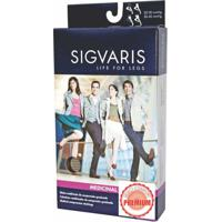 Meia Sigvaris 862Af Select Comfort Premium Meia Coxa Pequena Normal Natural Compressão 20-30Mmhg Ref-P2A33