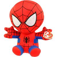 Pelúcia Beanie Babies - 40 Cm - Disney - Marvel - Spider-Man - Dtc - Feminino-Incolor