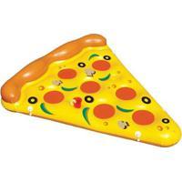 Bóia Gigante Pizza - Unissex-Amarelo+Vermelho