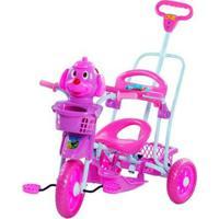 Triciclo 3 Em 1 Bel Brink Cabeça De Cachorro - Unissex-Rosa