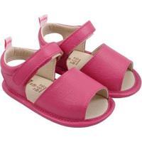 Sandália Infantil Couro Catz Calçados Avarca Feminina - Feminino-Pink
