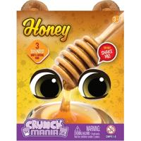 Pelúcia Com Som - 16 Cm - Crunch Mania - Honey - Intek - Feminino