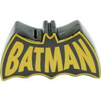 Cofre Batmanâ®- Preto & Amarelo- 11X20X5,5Cm- Urburban