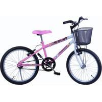 Bicicleta Feminina Aro 20 Melissa Com Cestinha - Feminino