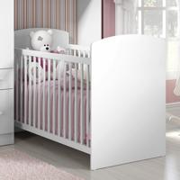 Berço De Bebê Doce Sonho Branco - Pnr Móveis